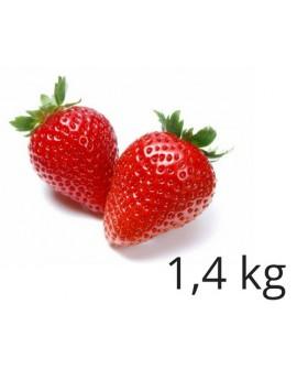 Masa cukrowa Smartflex Velvet TRUSKAWKOWA 1,4 kg do obkładania i dekoracji