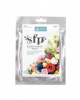 Masa do kwiatów Squires SFP 200 g BIAŁA lukier plastyczny