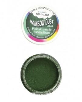 Barwnik pyłkowy matowy ZIELEŃ JESIENNA Rainbow Dust