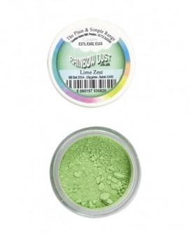 Barwnik pyłkowy matowy LIMONKA Rainbow Dust Lime Zest