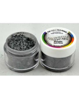 Barwnik pyłkowy PERŁOWY SREBRO CIEMNE  Rainbow Dust