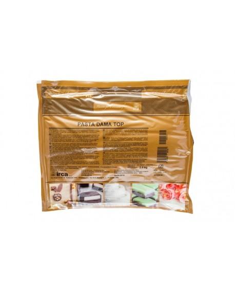 Masa cukrowa DAMA TOP 2,5 kg IRCA do obkładania lukier plastyczny