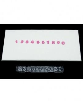 Wykrawaczka z wypychaczem MAŁE CYFERKI 10 mm Windsor Small Clikstix z klipsem/ wyciskarką