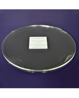 Krążki akrylowe 2 szt. 25 cm do kremu, ganache, tynku Talerz