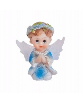 Figurka KOMUNIA Aniołek Chłopiec 4,5 cm