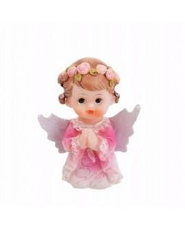 Figurka KOMUNIA Aniołek Dziewczynka 4,5 cm