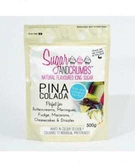 Puder cukier smakowy PINA COLADA 500 g