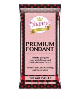 Masa cukrowa Shantys CZERWONA 1 kg do obkładania i dekoracji