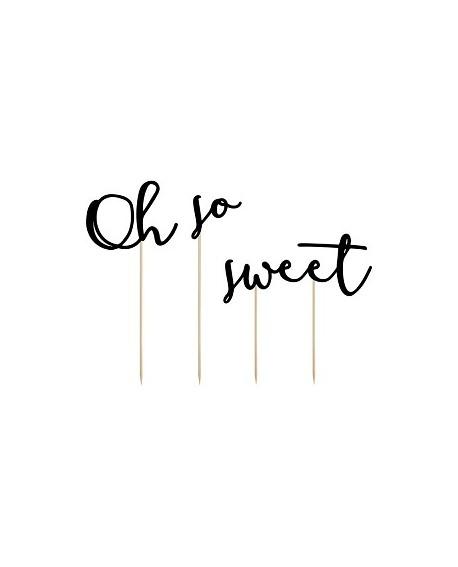 """Topper """"Oh so sweet"""" Ozdoba na tort"""