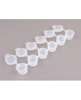 Pojemniki plastikowe 6 x 3 ml