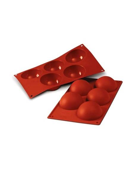 Forma silikonowa KULE 8 cm Półkule