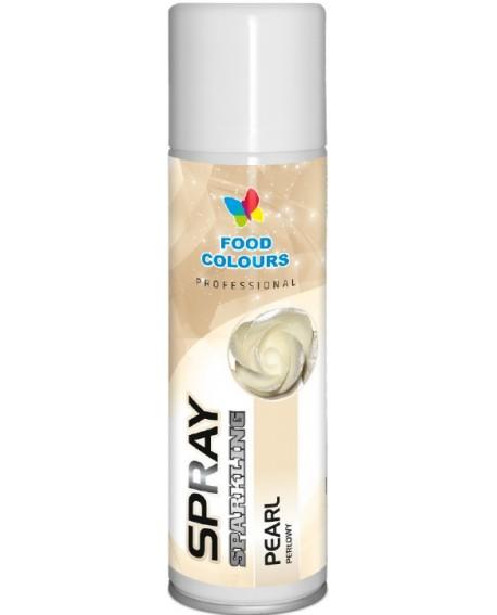 Barwnik w sprayu Food Colours PERŁOWY DUŻY 250 ml Spray