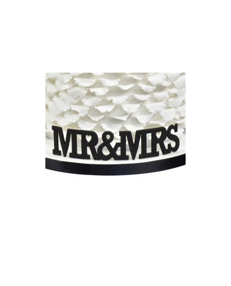 Wykrawaczka FMM napis MR&MRS 4 x 13 cm