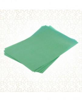 Papier waflowy Shantys ZIELONY A4 - 12 arkuszy