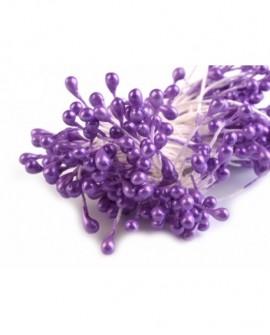 Pręciki do kwiatów FIOLETOWE