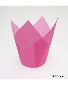 Papilotki tulipany FUKSJA 200 szt