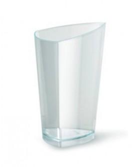 Pucharek trójkątny 70 ml zestaw 5 szt. Turkus