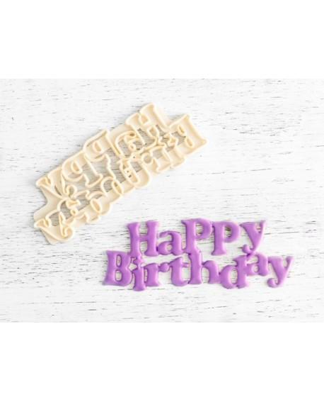 Wykrawaczka FMM napis Happy Birthday