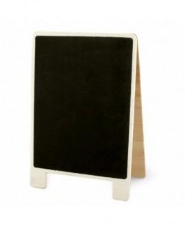 Tabliczka na słodki stół KREDOWA 9 x 13 cm z klamerką