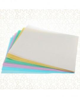 Papier waflowy Shantys MIKS KOLORÓW A4 - 10 arkuszy