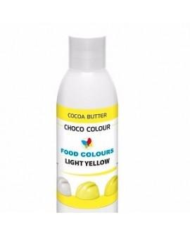 Profesjonalny barwnik do czekolady ŻÓŁTY JASNY 100 g Food Colours