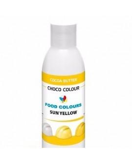 Profesjonalny barwnik do czekolady ŻÓŁTY SŁONECZNY 100 g Food Colours