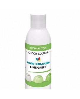Profesjonalny barwnik do czekolady ZIELONY JASNY 100 g Food Colours
