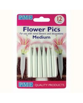 Uchwyty/ pojemniczki do kwiatów PME średnie 12 szt