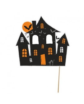 Topper Halloween STRASZNY DOMEK