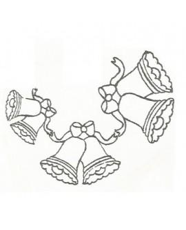 Wykrawaczka Patchwork DZWONKI 3 rozmiary Bells&Bows
