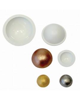 Formy plastikowe półokrągłe 3 szt PME