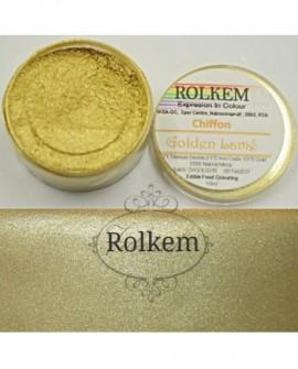 Barwnik pyłkowy Rolkem Chiffon GOLDEN LAME 10 ml