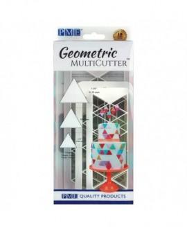 Wykrawaczka PME Geometryczna TRÓJKĄTY RÓWNOBOCZNE