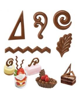 Forma na czekoladki Wilton WZORY DEKORACYJNE