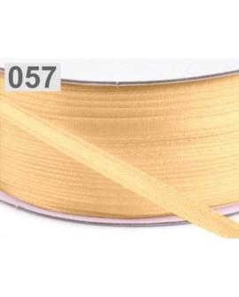 Wstążka satynowa 3mm WANILIOWA 5 m
