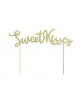 Topper Sweet Kisses Ozdoba na tort