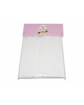 Patyczki do lizaków Shantys 15 cm - 100 szt papierowe