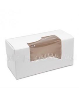 Pudełko kartonik na makaroniki MAŁE na 4-6 szt. Zestaw 5 szt