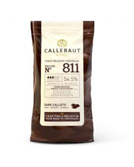 Dropsy czekoladowe Callebaut CZEKOLADA CIEMNA 811 1kg