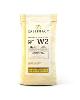 Dropsy czekoladowe Callebaut CZEKOLADA BIAŁA W2 1kg