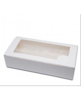 Pudełko kartonik na makaroniki DUŻE na 20-24 szt. Zestaw 10 szt