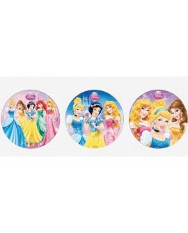 Opłatek na tort KSIĘŻNICZKI 20 cm Disney