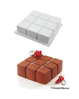 Forma silikonowa 3D Silikomart Cubik