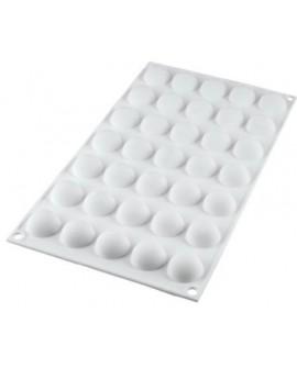 Forma silikonowa KULE 26 mm Półkule Kopułki Silikomart