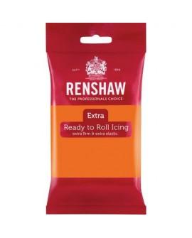 Masa cukrowa RENSHAW Extra POMARAŃCZOWA 250 g