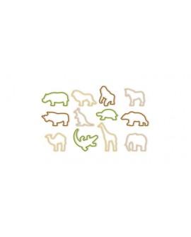 Foremki zwierzęta 12 szt.  ZOO