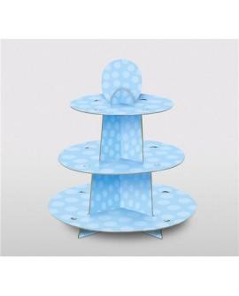 Stojak/ Patera papierowa BABY niebieski