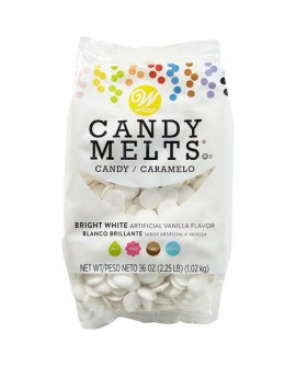 Dropsy czekoladowe Wilton Candy Melts ŚNIEŻNOBIAŁE 1 kg