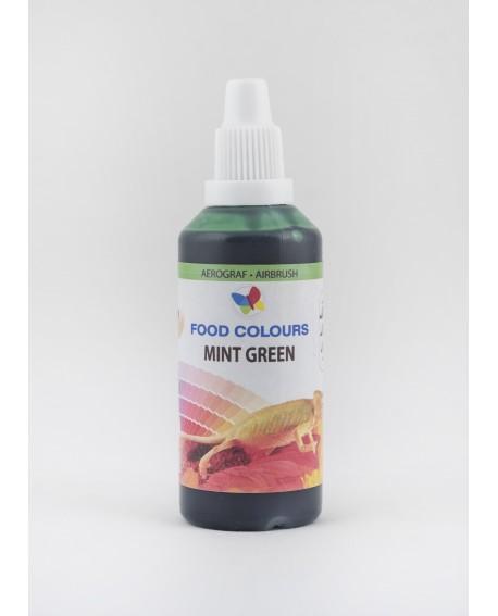 Barwnik do aerografu ZIELEŃ MIĘTOWA 60 ml Food Colours