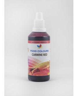 Barwnik do aerografu CZERWONY KARMINOWY 60 ml Food Colours